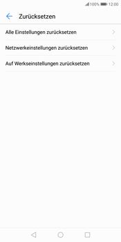 Huawei P Smart - Fehlerbehebung - Handy zurücksetzen - 9 / 12