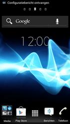 Sony ST26i Xperia J - internet - automatisch instellen - stap 3