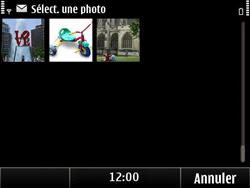 Nokia E6-00 - MMS - envoi d'images - Étape 9