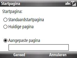 HTC S521 Snap - Internet - Handmatig instellen - Stap 13