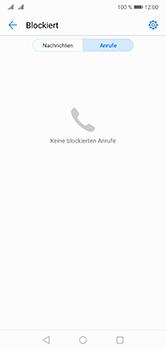 Huawei P20 Lite - Anrufe - Anrufe blockieren - 1 / 1