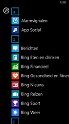 Nokia Lumia 930 - MMS - hoe te versturen - Stap 2