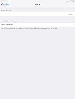 Apple iPad Mini 4 - iOS 12 - E-mail - e-mail instellen: POP3 - Stap 17