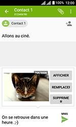 Alcatel U3 - Contact, Appels, SMS/MMS - Envoyer un MMS - Étape 19
