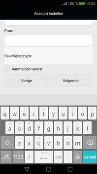 Huawei Mate S - E-mail - Account instellen (IMAP zonder SMTP-verificatie) - Stap 16