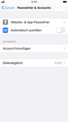 Apple iPhone 8 - iOS 13 - E-Mail - 032b. Email wizard - Yahoo - Schritt 4
