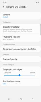 Samsung Galaxy Z flip - Startanleitung - So fügen Sie eine Tastatursprache hinzu - Schritt 6