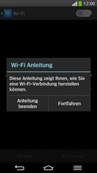 LG D955 G Flex - WiFi - WiFi-Konfiguration - Schritt 5