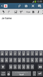 Samsung I9195 Galaxy S IV Mini LTE - E-mail - envoyer un e-mail - Étape 9