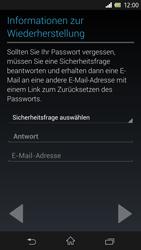 Sony Xperia Z - Apps - Konto anlegen und einrichten - 9 / 17