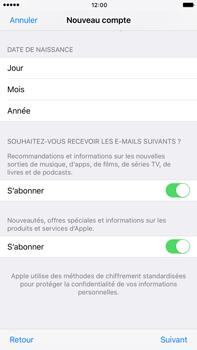 Apple Apple iPhone 6s Plus iOS 10 - Applications - Créer un compte - Étape 17