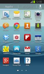 Samsung I8730 Galaxy Express - SMS - Configuration manuelle - Étape 3