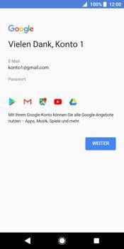 Sony Xperia XZ2 - Apps - Konto anlegen und einrichten - 15 / 19