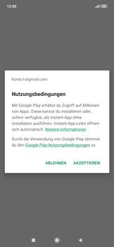 Xiaomi RedMi Note 7 - Apps - Einrichten des App Stores - Schritt 19