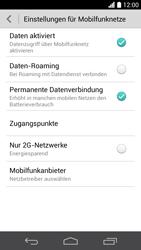 Huawei Ascend P6 - Internet und Datenroaming - Deaktivieren von Datenroaming - Schritt 6