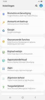 Samsung Galaxy A80 - toestel resetten - back-up maken met jouw account - stap 6