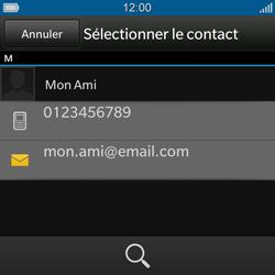 BlackBerry Q10 - Contact, Appels, SMS/MMS - Envoyer un MMS - Étape 7