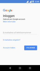 Nokia 1 - apps - account instellen - stap 4