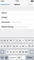 Apple iPhone 5s - E-Mail - Konto einrichten (yahoo) - 7 / 12