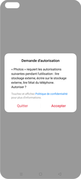 Oppo Reno 4Z - Photos, vidéos, musique - Envoyer une photo via Bluetooth - Étape 4