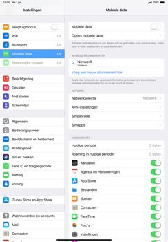 Apple ipad-pro-11-inch-2018-model-a1934 - Internet - Uitzetten - Stap 5