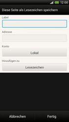HTC One X - Internet und Datenroaming - Verwenden des Internets - Schritt 11