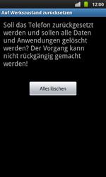 Samsung Galaxy S Plus - Fehlerbehebung - Handy zurücksetzen - 9 / 10