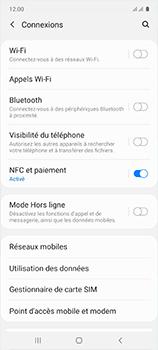 Samsung Galaxy A51 - Internet et roaming de données - Comment vérifier que la connexion des données est activée - Étape 5