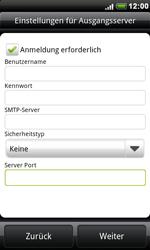 HTC Desire - E-Mail - Konto einrichten - 1 / 1