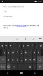 Microsoft Lumia 650 - E-mail - Bericht met attachment versturen - Stap 5