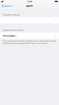 Apple iPhone 8 Plus - E-Mail - Konto einrichten - 1 / 1