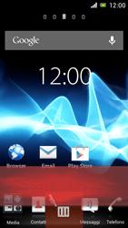Sony Xperia J - Operazioni iniziali - Installazione di widget e applicazioni nella schermata iniziale - Fase 8