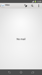 Sony Xperia Z1 Compact - E-mail - manual configuration - Step 4