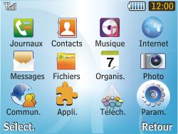 Samsung S3350 Chat 335 - MMS - Configuration manuelle - Étape 3