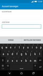 HTC One M8 - E-mail - Account instellen (IMAP zonder SMTP-verificatie) - Stap 18