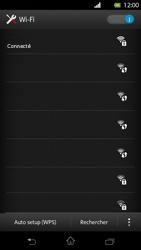 Sony Xperia T - WiFi - Configuration du WiFi - Étape 8