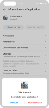 Huawei P40 Pro - Applications - Supprimer une application - Étape 7