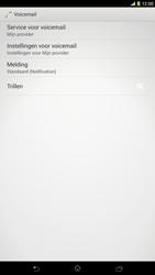 Sony C6833 Xperia Z Ultra LTE - Voicemail - Handmatig instellen - Stap 6