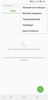 Samsung Galaxy A9 (2018) - voicemail - handmatig instellen - stap 5