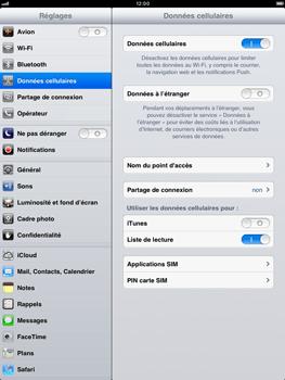 Apple iPad mini - Internet - activer ou désactiver - Étape 4