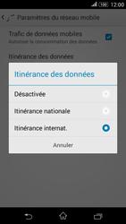 Sony Xperia E4g - Aller plus loin - Désactiver les données à l'étranger - Étape 7