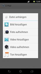 Sony Xperia T - E-Mail - E-Mail versenden - Schritt 10