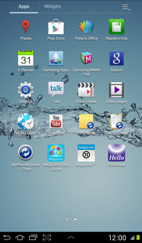 Samsung P3100 Galaxy Tab 2 7-0 - Internet - Manual configuration - Step 3