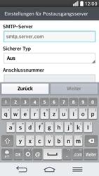 LG D620 G2 mini - E-Mail - Konto einrichten - Schritt 13