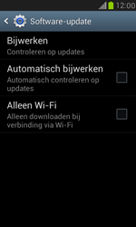 Samsung Galaxy S III Mini - software - update installeren zonder pc - stap 6