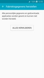 Samsung Galaxy S6 - Android M - Instellingen aanpassen - Fabrieksinstellingen terugzetten - Stap 7