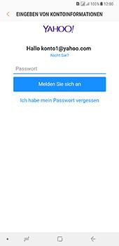 Samsung Galaxy A8 Plus (2018) - E-Mail - Konto einrichten (yahoo) - Schritt 9