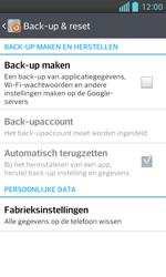 LG E460 Optimus L5 II - toestel resetten - fabrieksinstellingen terugzetten - stap 5