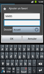 Samsung I9001 Galaxy S Plus - Internet - navigation sur Internet - Étape 9