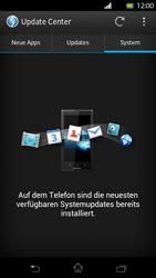 Sony Xperia T - Software - Installieren von Software-Updates - Schritt 8